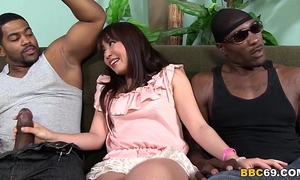 Marica hase anal dp with dark schlongs