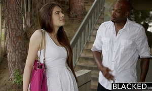 Blacked 1st interracial for nice-looking gf zoe wood