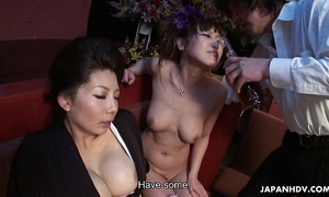 Two smokin' hawt japanese angels have a fun a wild sexual three-some