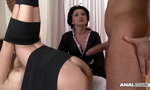 Japanese sort anal trio with geishas ivana sugar and alice